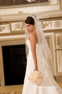 Bride at the Palmer House Chicago